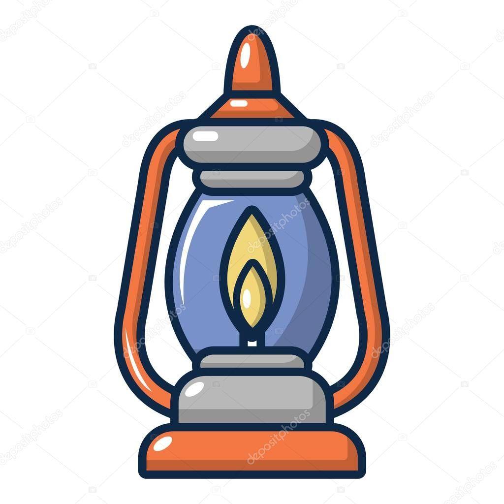 Icono De La Lampara De Queroseno Ilustracion De Dibujos Animados De Icono De Vector De Lampara De Queroseno Para Dise Iconos Pozos Azules Lampara De Queroseno