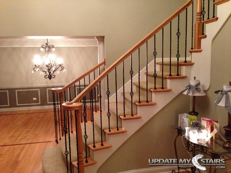 Single Double And Plain Twist Basket Balusters Installed By