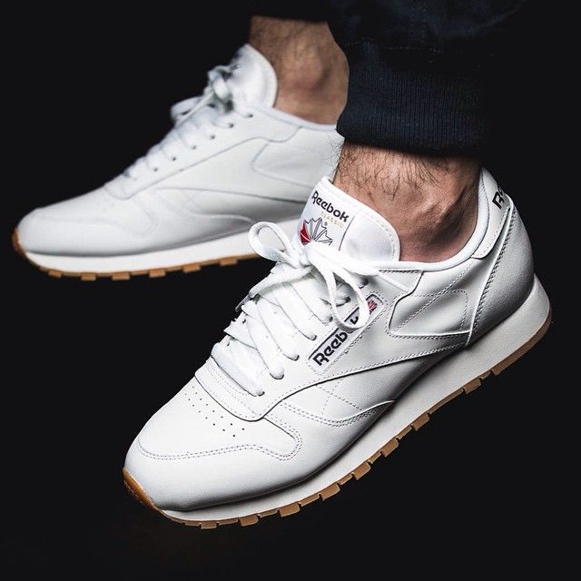 reebok classic white leather mens