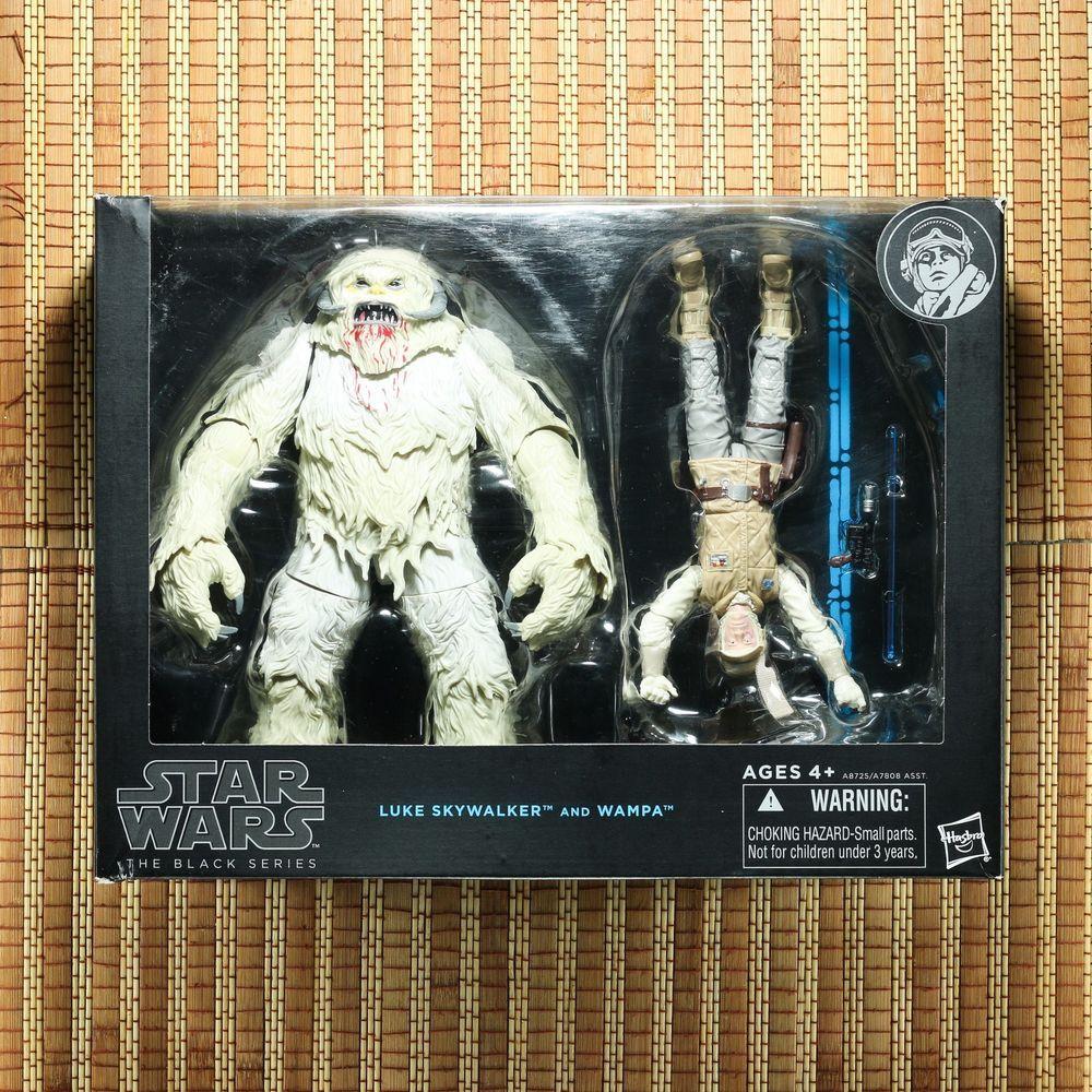 Star Wars Black Series ~ LUKE SKYWALKER /& WAMPA Action Figure Set ~ Hasbro