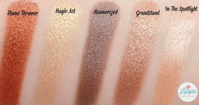 Makeup Geek Foiled Eyeshadow Collection Swatches Review Makeup Geek Foiled Eyeshadow Makeup Geek Foil Eyeshadow