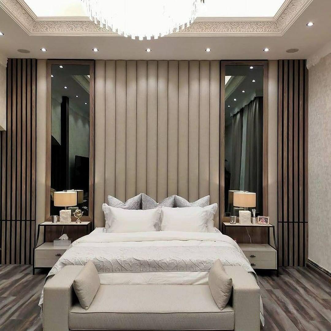 ديكور سرير ديكور سرير غرفة نوم ديكور خلفية سرير مودرن لتواصل الرياض 0535711713 In 2021 Hotel Room Interior Home Home Room Design