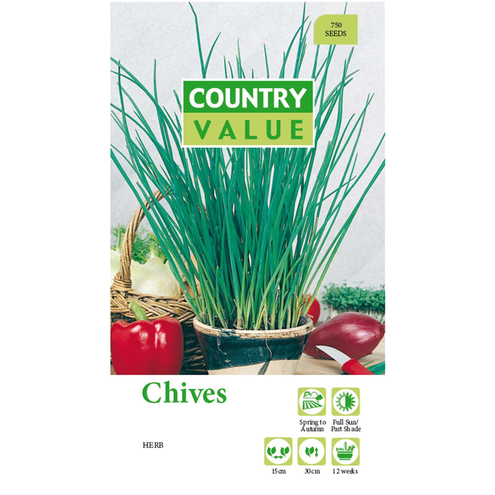 Country Value Chives Seeds (With images) Chive seeds