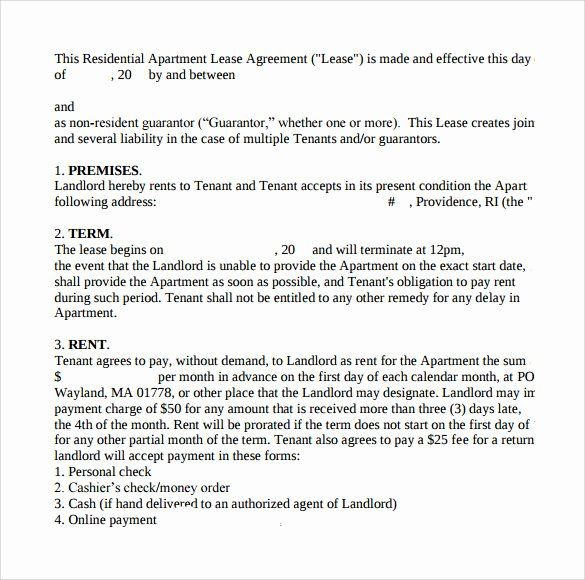 Apt Lease Agreement Template New 8 Apartment Lease Agreements Samples Examples In 2020 Lease Agreement Apartment Lease Rental Agreement Templates