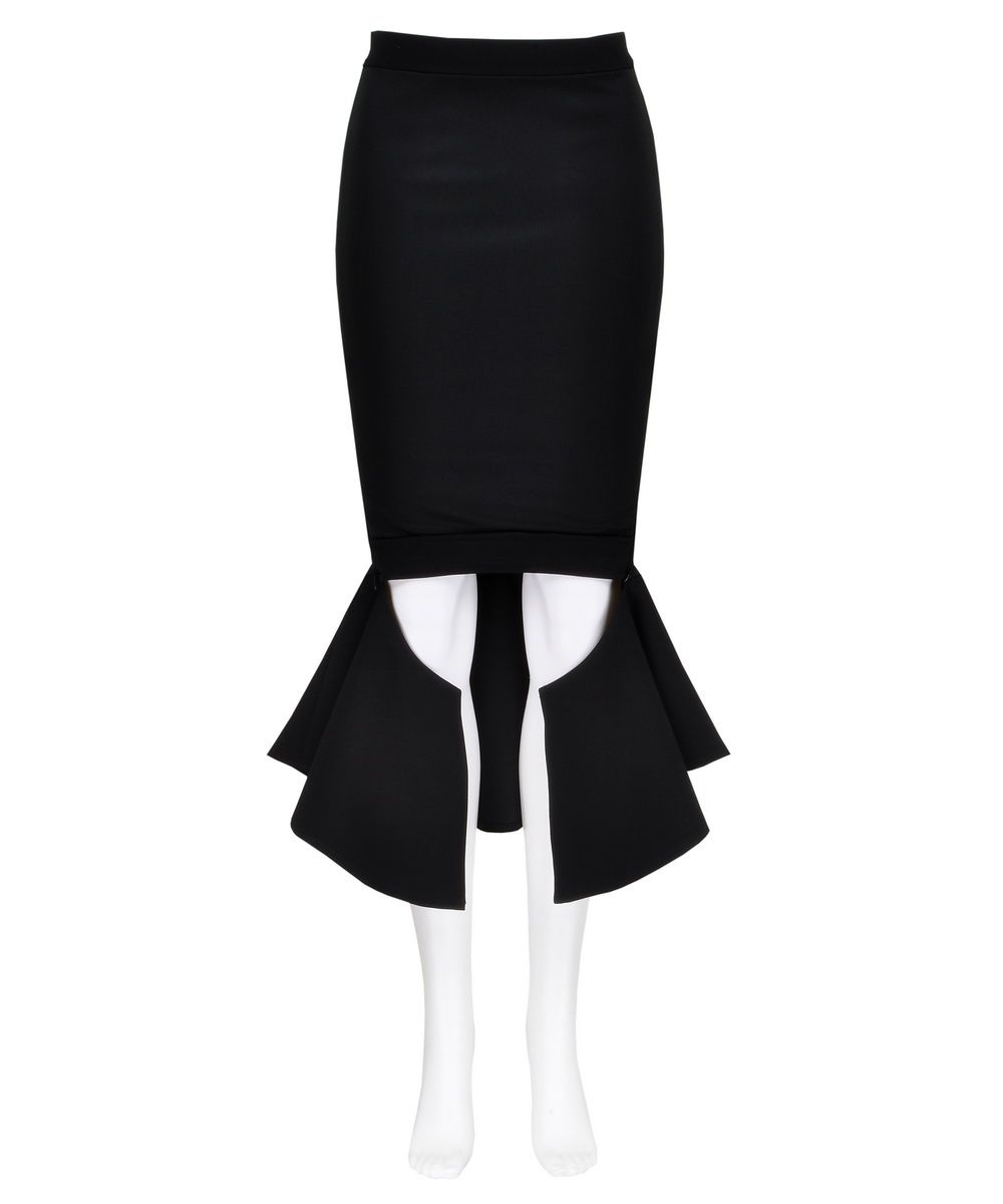 http://www.getthelooks.com.au/black-pencil-skirt-with-fishtail-frill-2