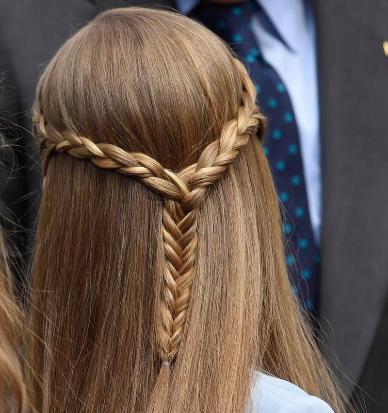 Peinados con trenzas para la casa