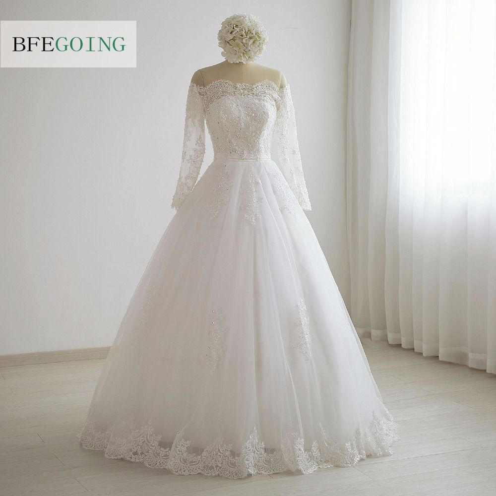 Click to buy ucuc ivory aline wedding dress floorlength off the