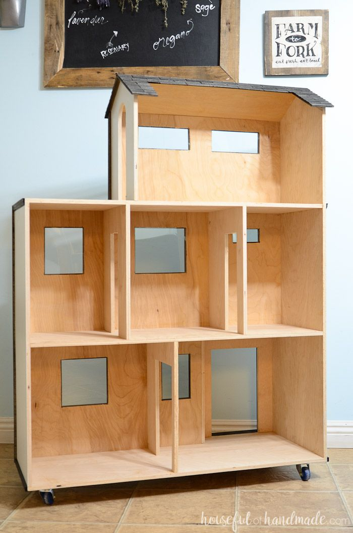 Handmade Dollhouse Exterior
