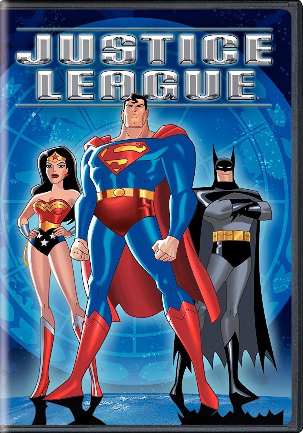 JUSTICE LEAGUE SECRET ORIGINS DVD Justice league
