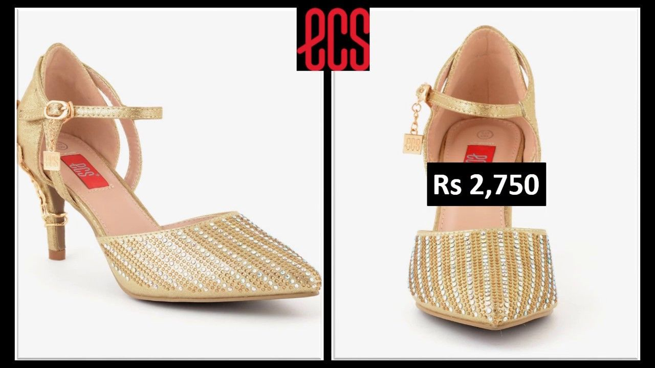 7435f589 LATEST ECS BRIDAL SHOES COLLECTION VOL 2 WITH PRICE NEW ARRIVALS 2019