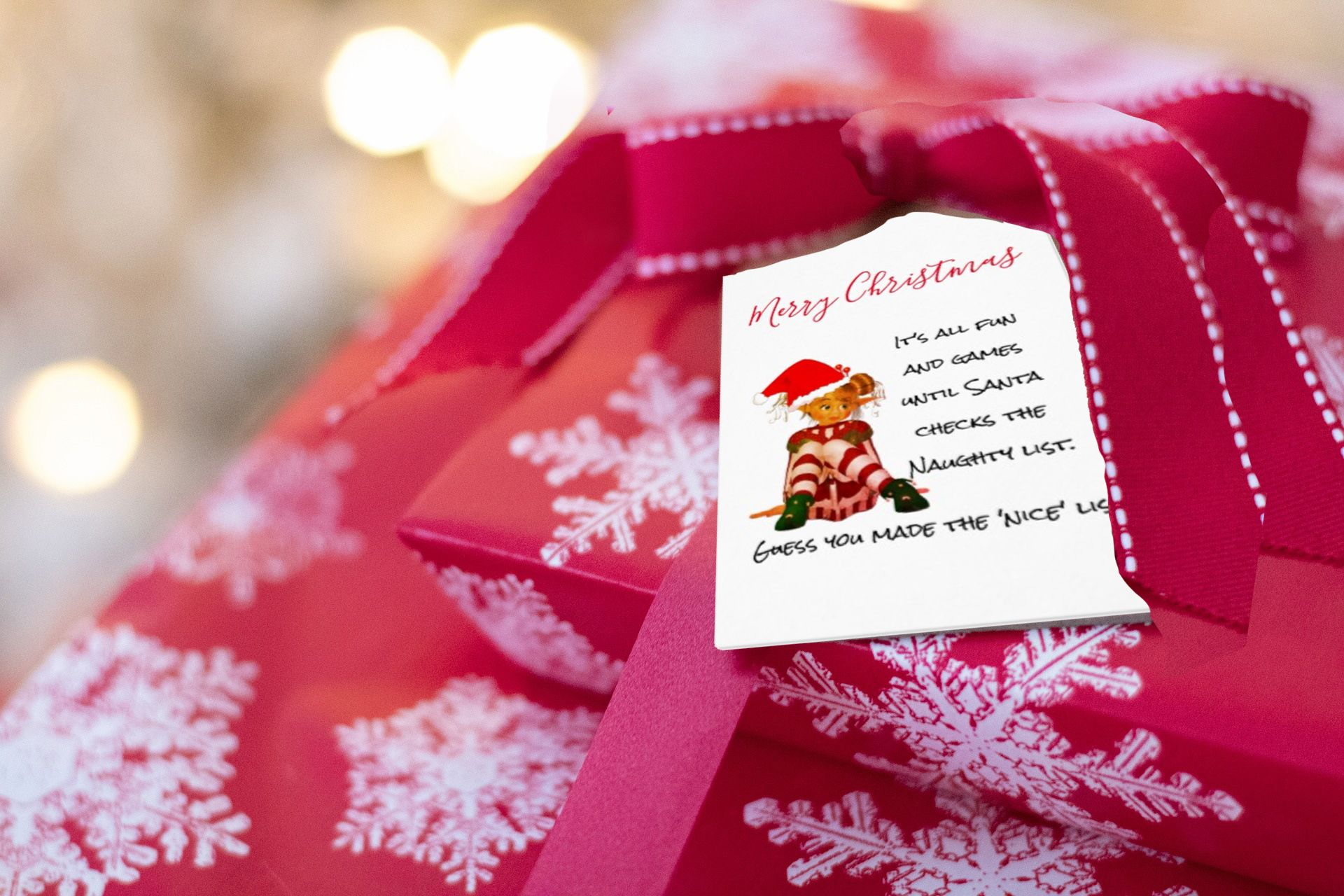 Funny Christmas Quotes Custom personal Christmas stationary and decorations with funny Christmas quotes 'christmasquotes#fun#funny#naughtybutnice#elf#believeinchristmas#believe#santa#zazzle#zazzlemade