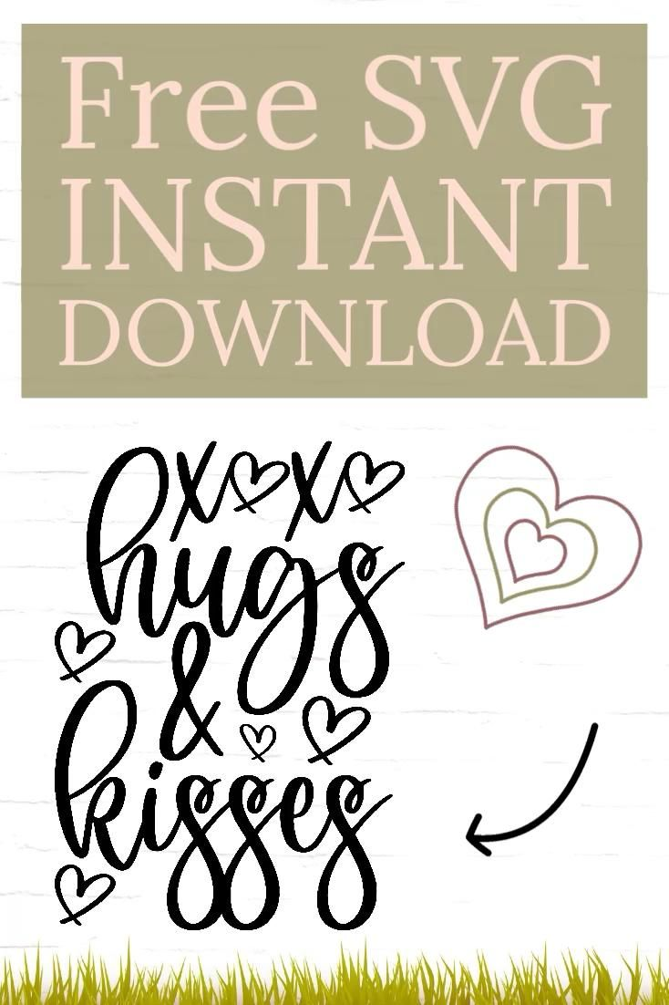 Hugs and kisses SVG - Good Morning Chaos