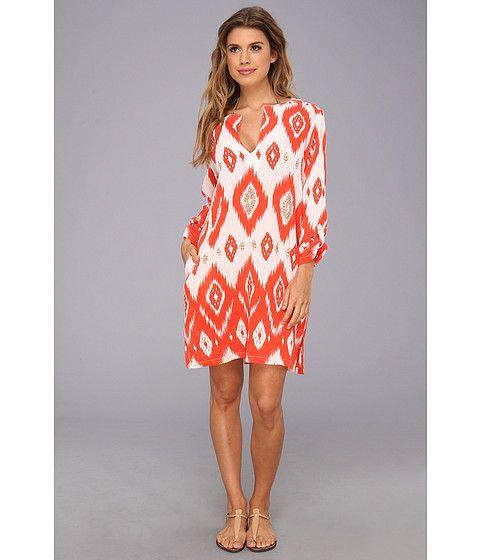 Echo Design Island Ikat Sequined Tunic Orange - Zappos.com Free Shipping BOTH Ways  $98
