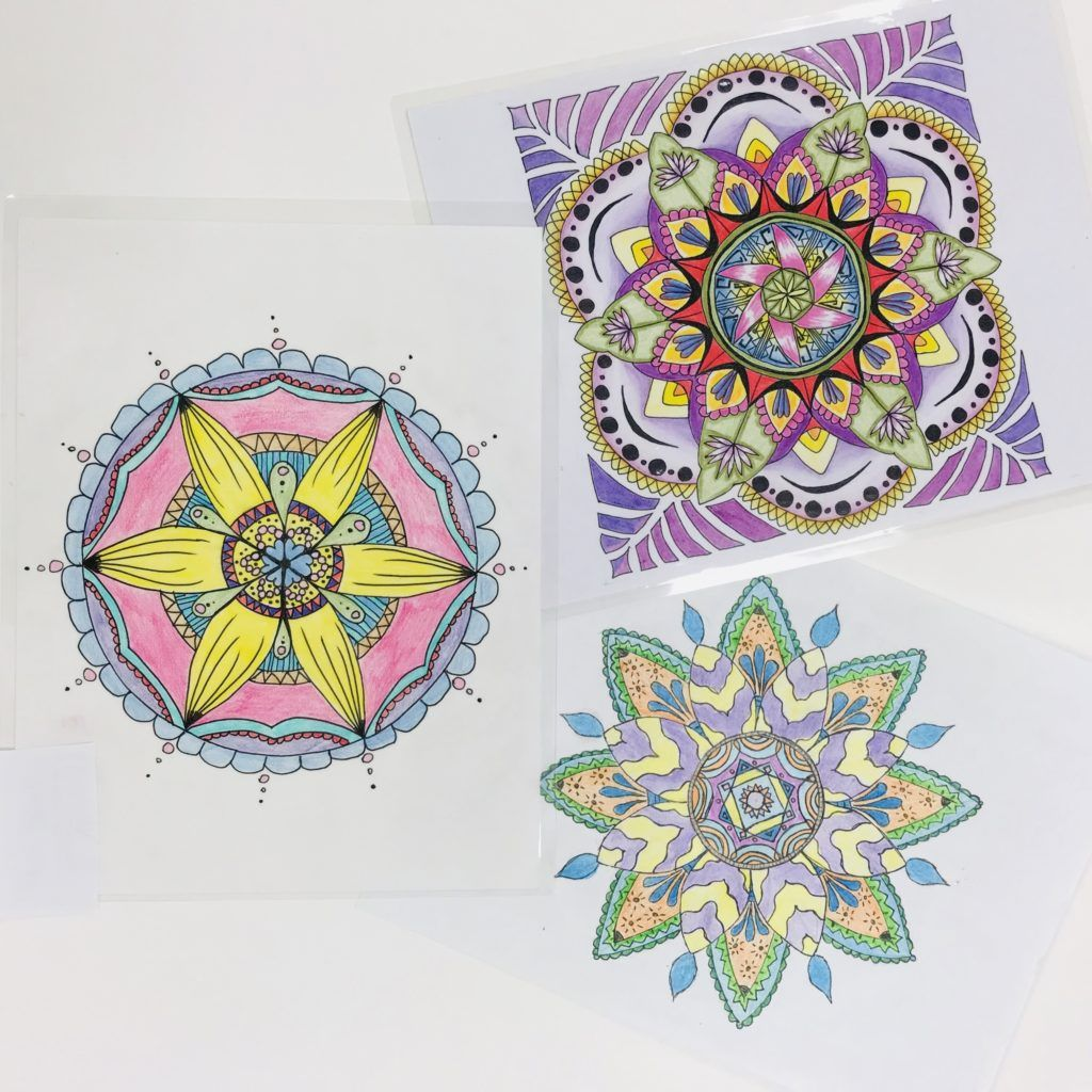 Mandala Project For Rotational Symmetry In