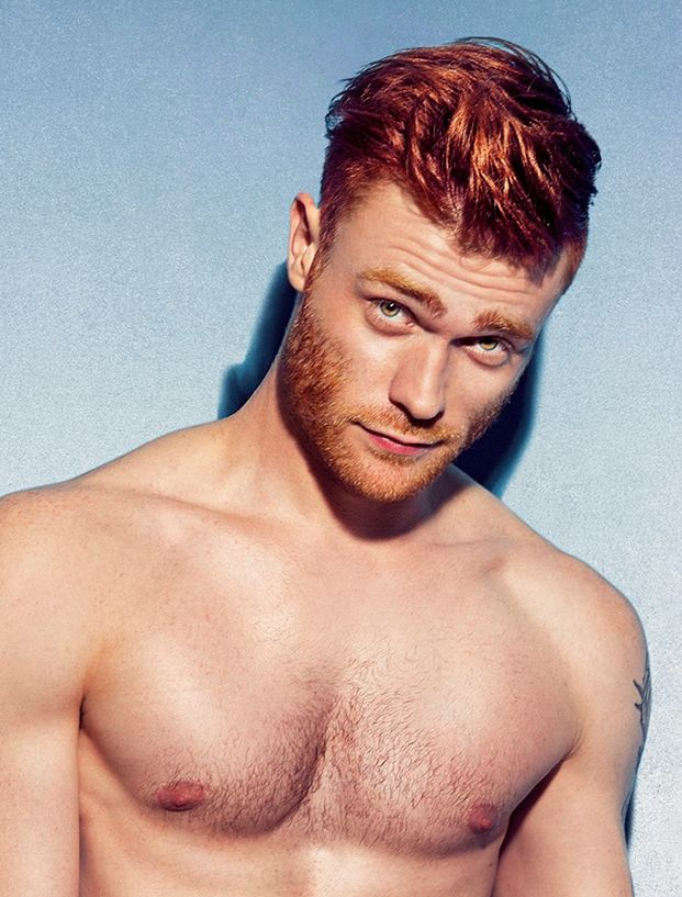 Redheaded men are hot, and here's the proof