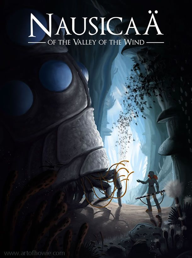 Nausicaa of the Valley of the Wind-Beautiful and inspiring movie