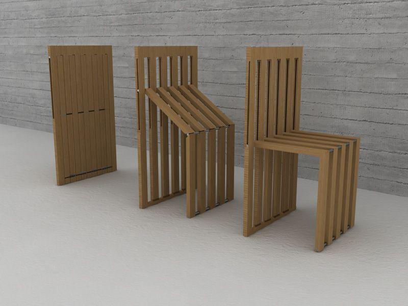 Comb Chair by Ufuk Keskin My Mental Energizers! Pinterest