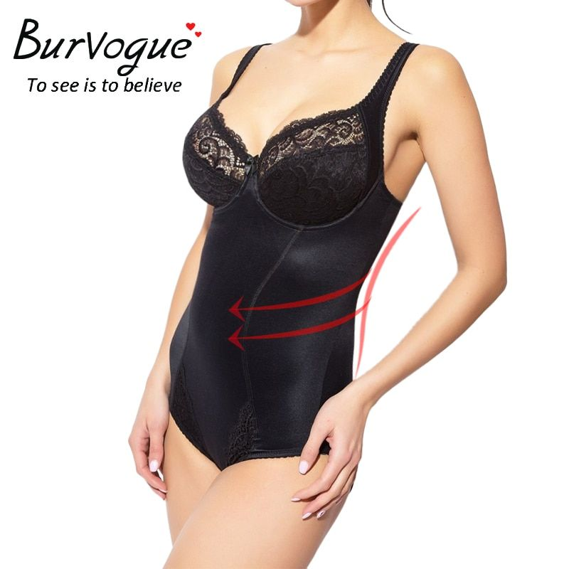 713e7cf727 Fine New Collection  12.99 - Burvogue Women Body Shaper Seamless Bodysuits  Shapewear Waist Cincher Control Shaper