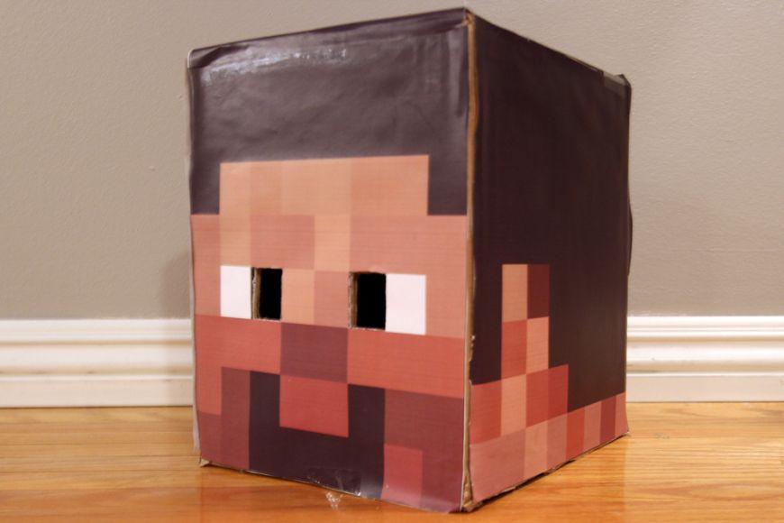 Minecraft costumes DIY Halloween Pinterest Costumes, Halloween - minecraft halloween costume ideas