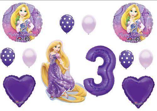 Tangled Rapunzel Disney 3rd BIRTHDAY PARTY Balloons Decorations Supplies Balloon Emporium http://www.amazon.com/dp/B00I555IS6/ref=cm_sw_r_pi_dp_OAzSub0HQRH4Q
