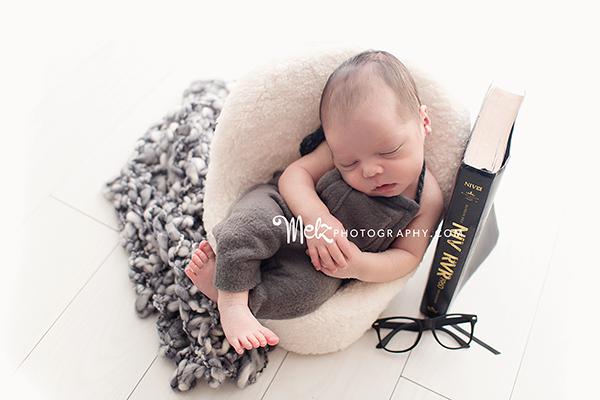 Hezekiah newborn session book prop newborn couch prop glasses prop newborn