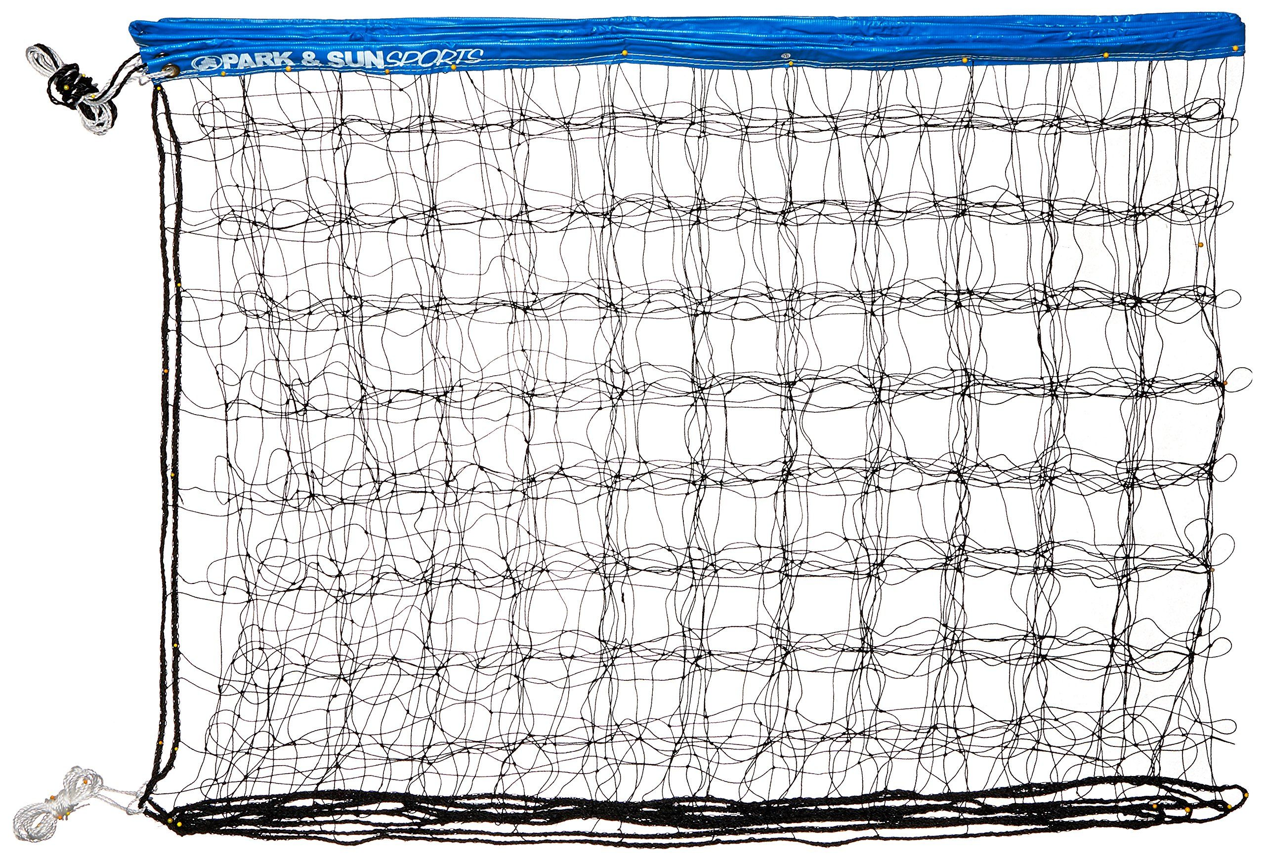 Park And Sun Sports Regulation Size Indoor Outdoor Recreational Volleyball Net With Rope Cable Top Blue Details Ca In 2020 Volleyball Net Volleyball Volleyball Nets