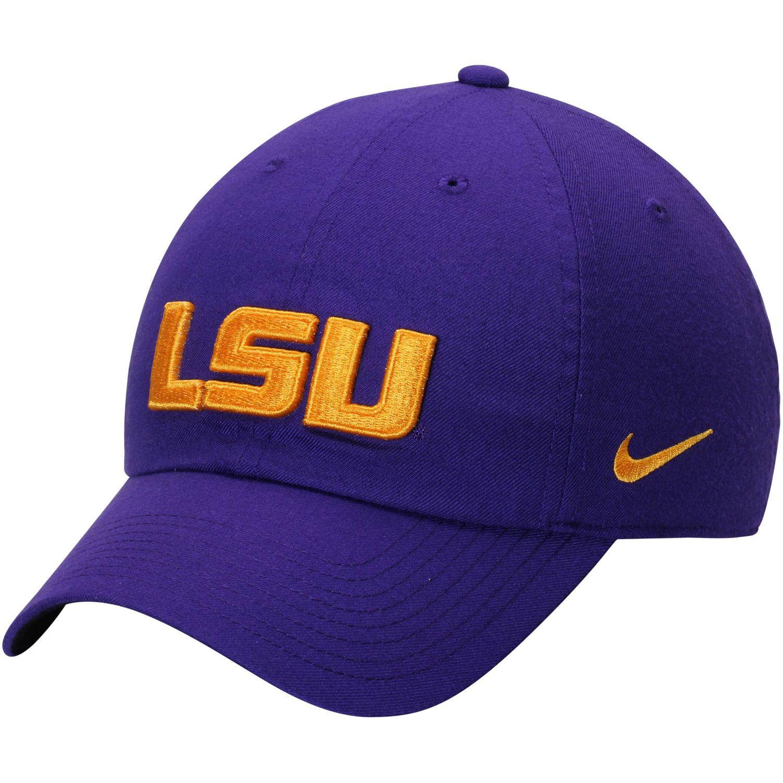 quality design fa70c 99ab8 Men s Nike Purple LSU Tigers Heritage 86 Authentic Adjustable Performance  Hat