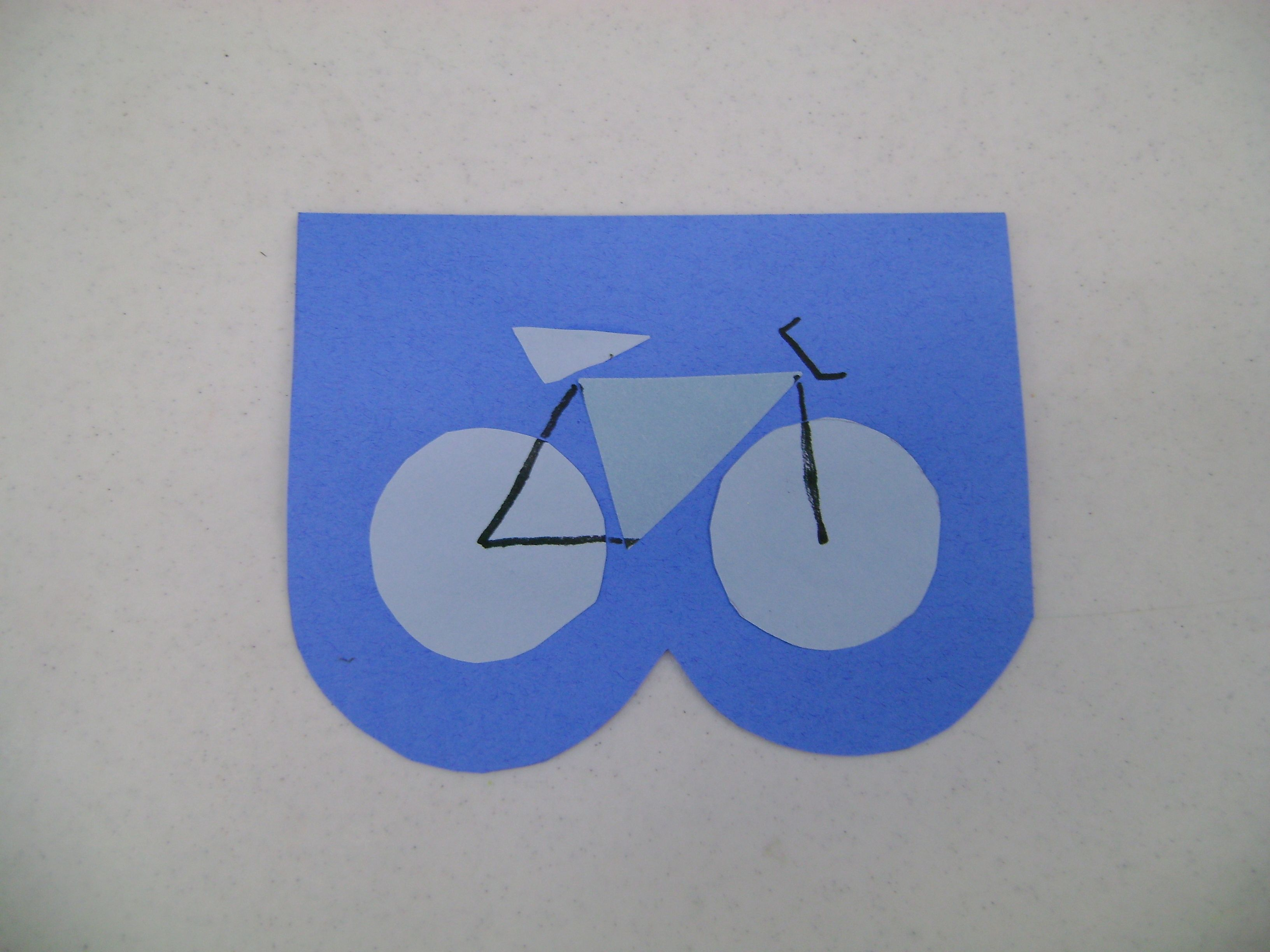 B Is For Bicycle Preschool Craft