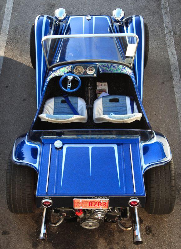 blue dune buggy
