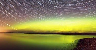 Auroras boreales y la Luna desde Tromsø, Noruega | El Universo Hoy ...