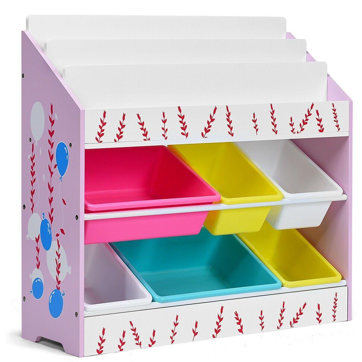 Kids Toy Storage Organizer Children Storage Bins Book Sleeves Toy Storage Organization Kids Storage Storage Bins #storage #bins #for #living #room