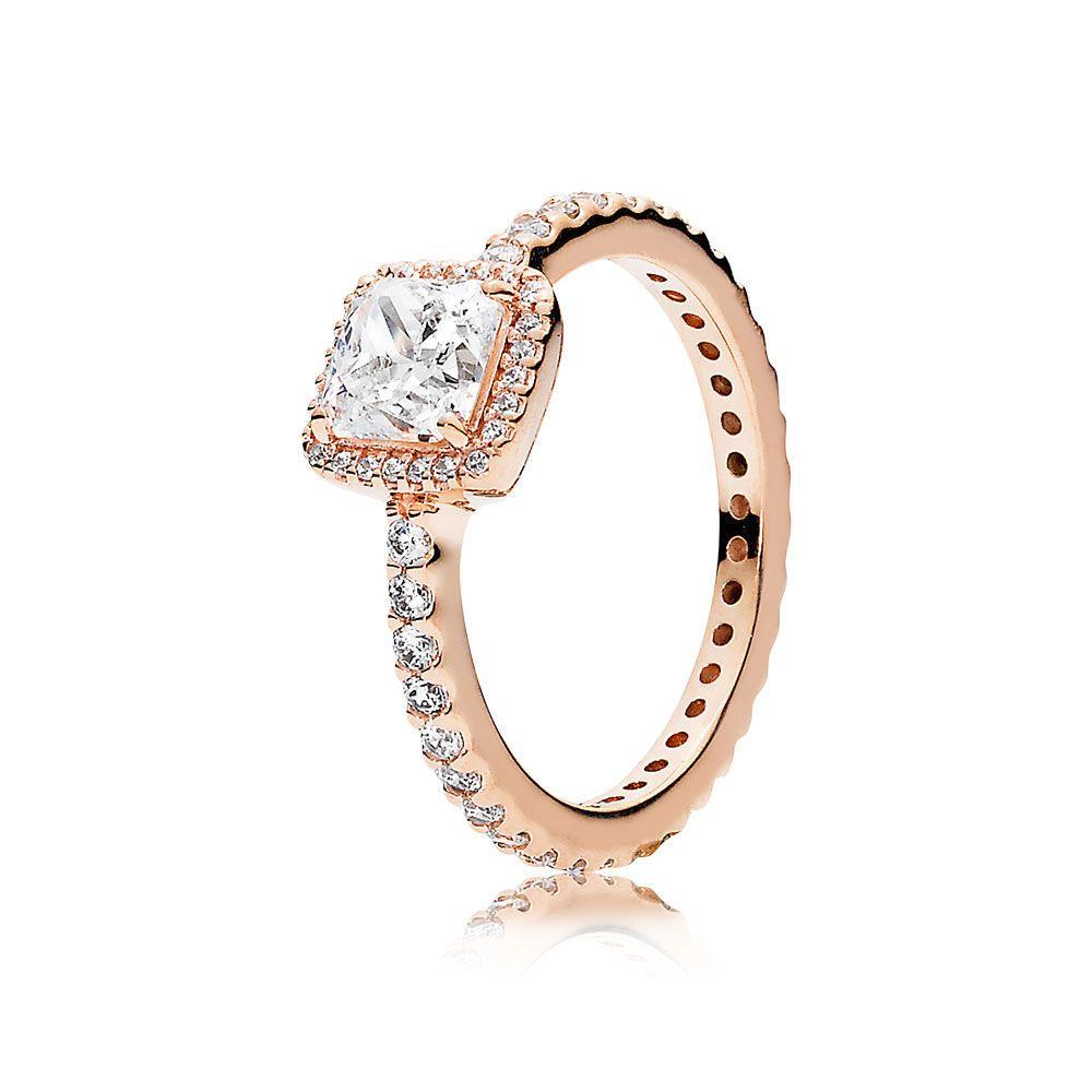 pandora anillo oro rosa