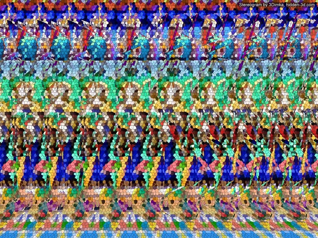 Cool Stereograms Castle Theme Ghost Knights Magic Eyes Magic Eye Pictures Eye Illusions