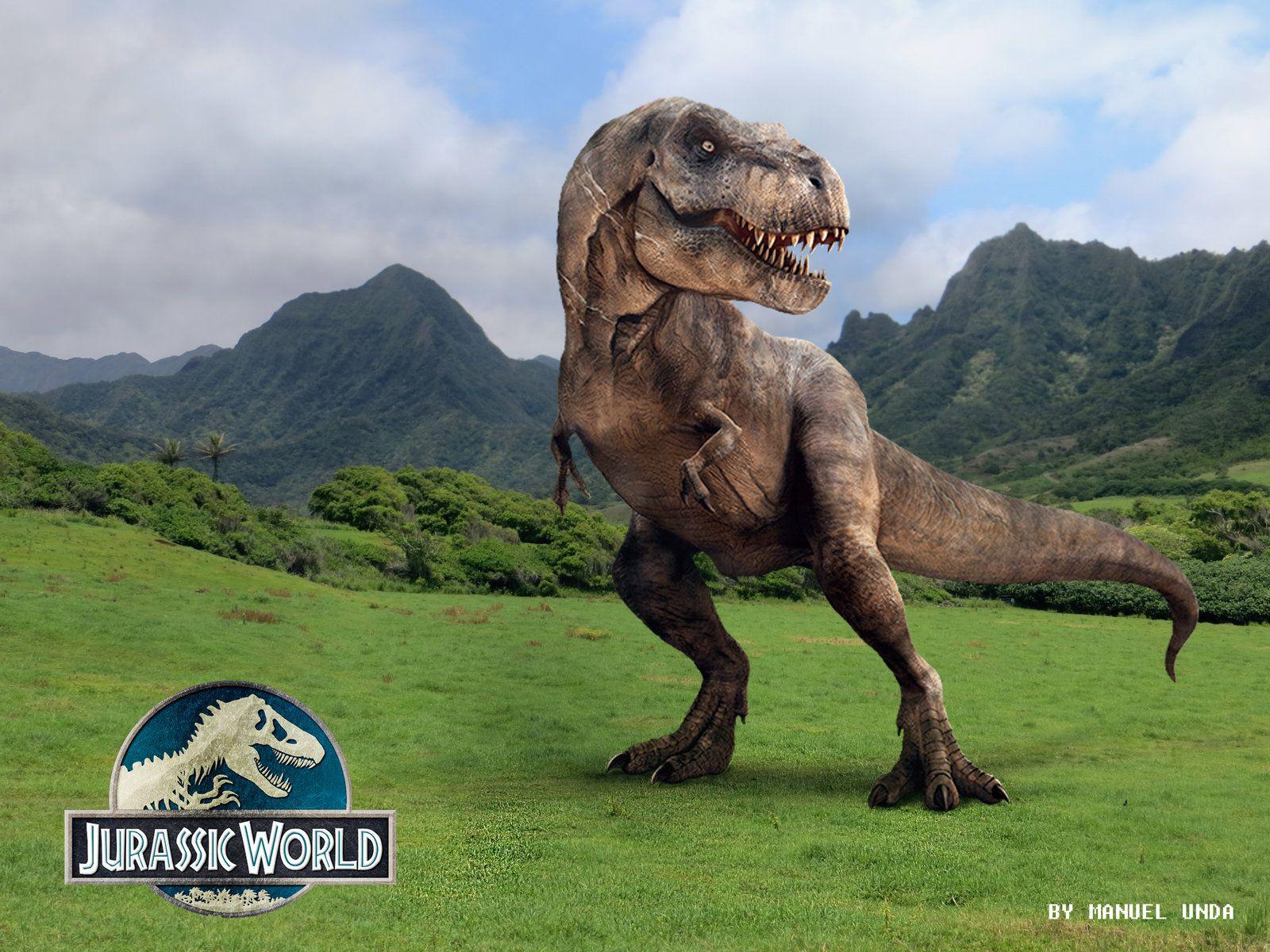 Jurassic Park T-rex Wallpaper Desktop Background ...