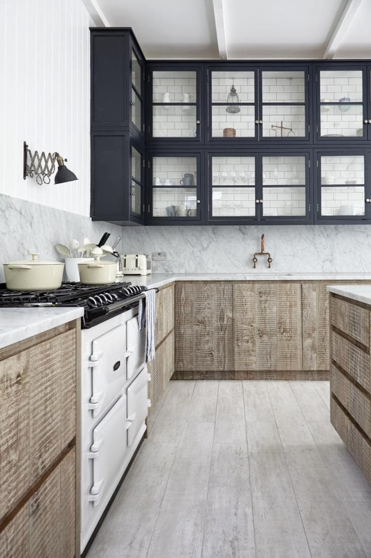 Rustic and industrial country house in london  like the two tones light look also rh pinterest