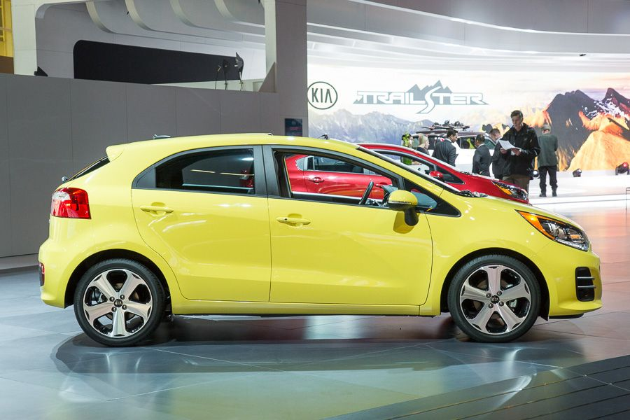 Kia Rio Most Yellow