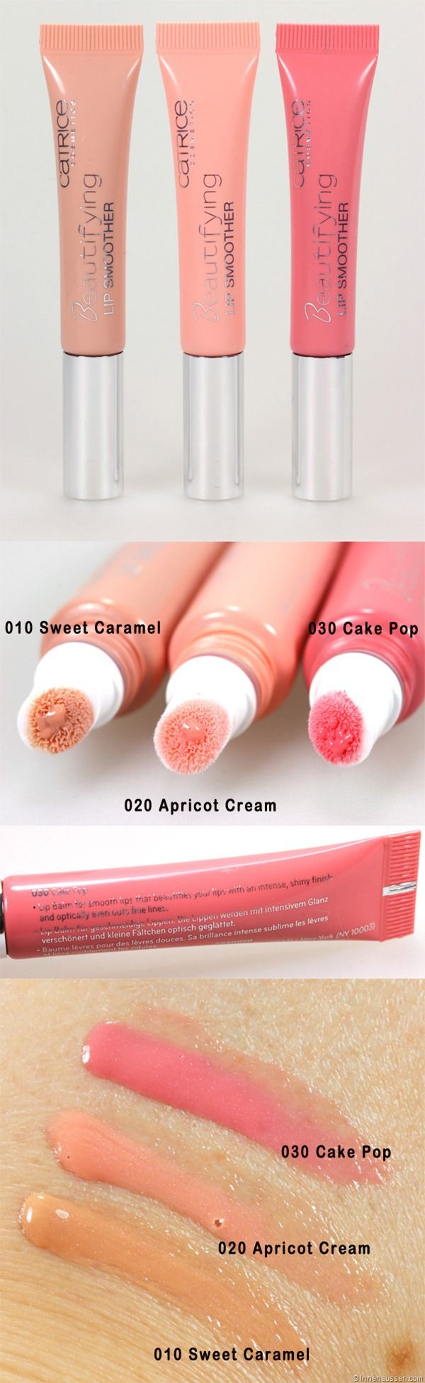 Photo of Catrice Beautifying Lip Smoothers versus Clarins Instant Light Natural Lip Perfector – InnenAussen