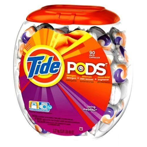 Amazon Com Tide Pods Got This As A Free Sample In My Influenster Box As Part Of My Xovobox Works Great Tide Pods Detergent Scents Tide Detergent