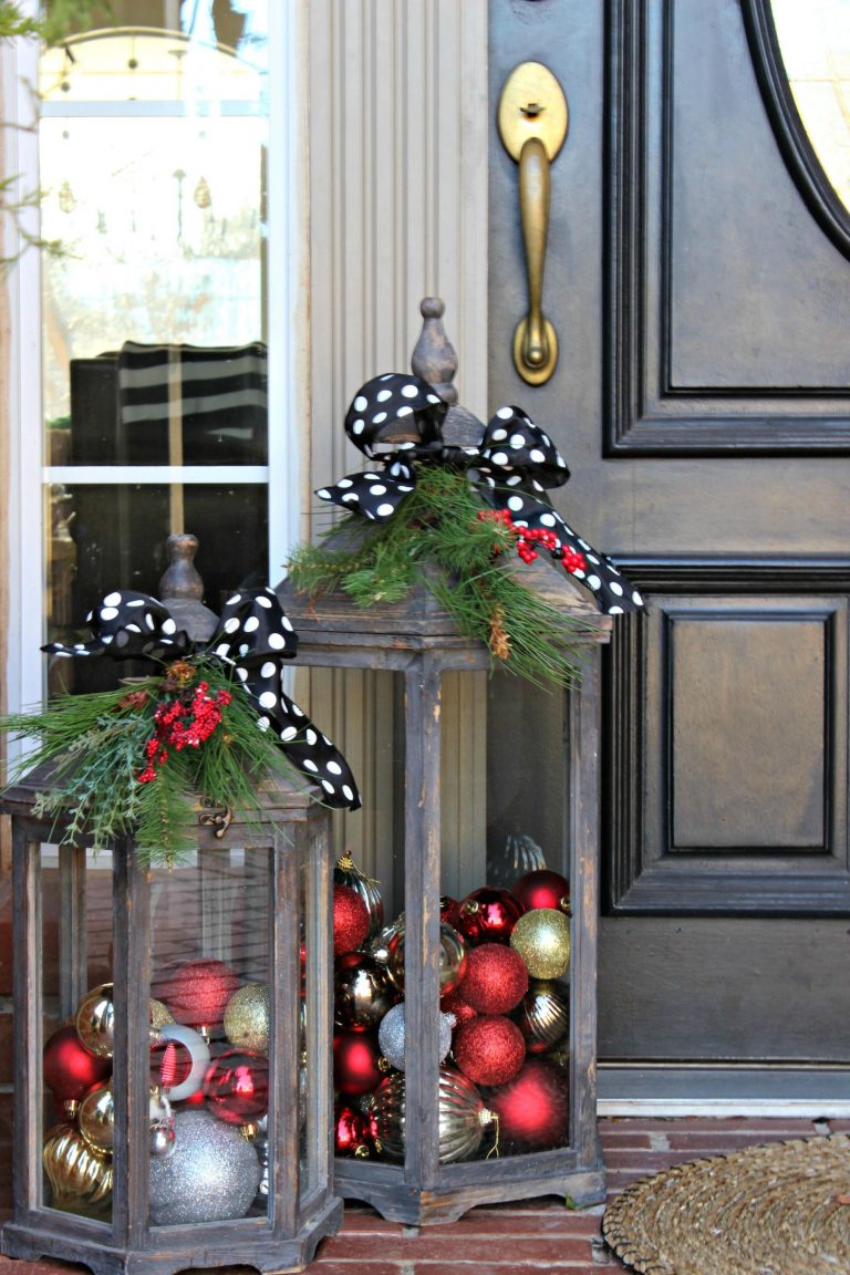 Small Front Porch Christmas Decorating Ideas Layjao Christmas Porch Decor Christmas Door Decorations Christmas Decorations