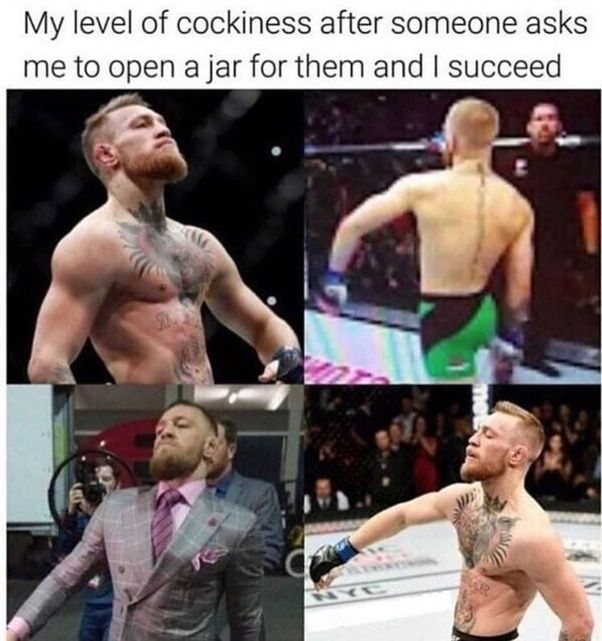 20 Funny Memes For Your Saturday 8 Bit Nerds Conor Mcgregor Funny Funny Pictures With Captions Funny Pictures