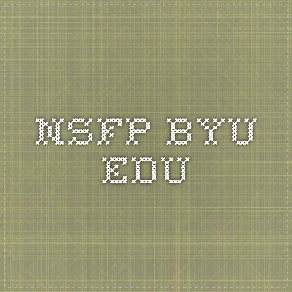 Keys to Gaining a Prestigious Scholarship nsfp.byu.edu