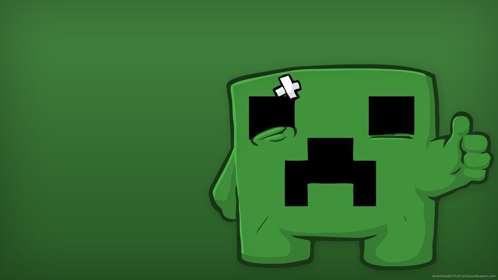Minecraft Creeper Images Click Wallpapers