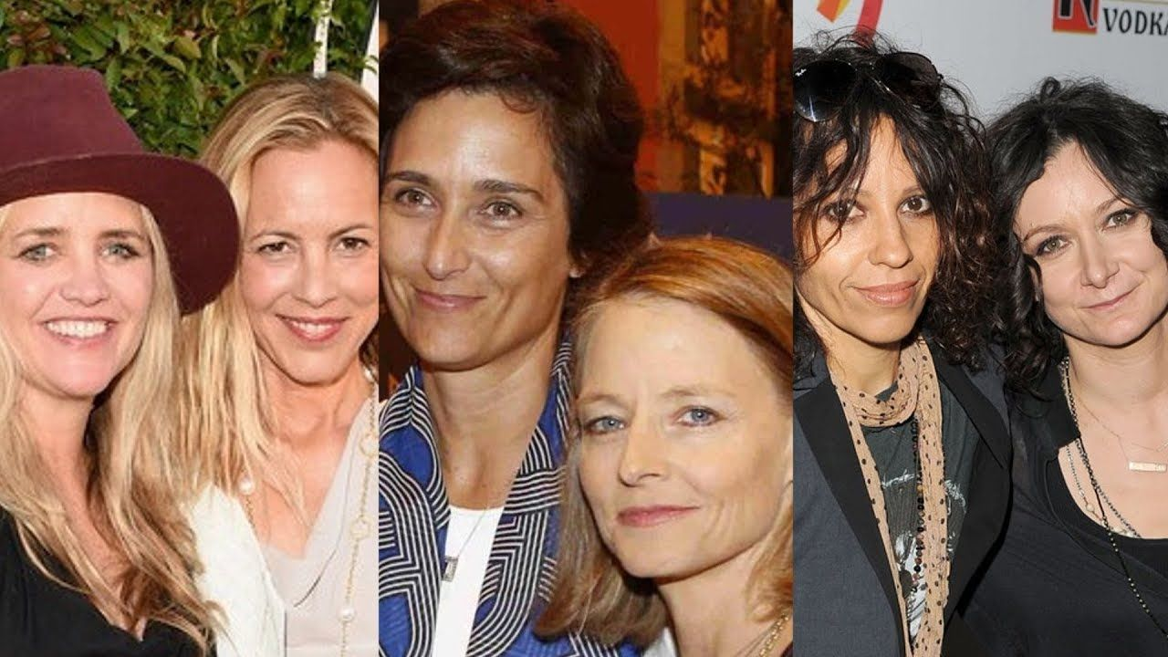 25 Lesbian Hollywood Couples Youtube Hollywood Couples