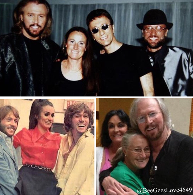 Lesley Gibb And Family Andy Gibb Barry Gibb Bee Gees
