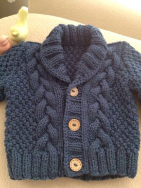 5d3ae0926863 Knit Baby Sweater