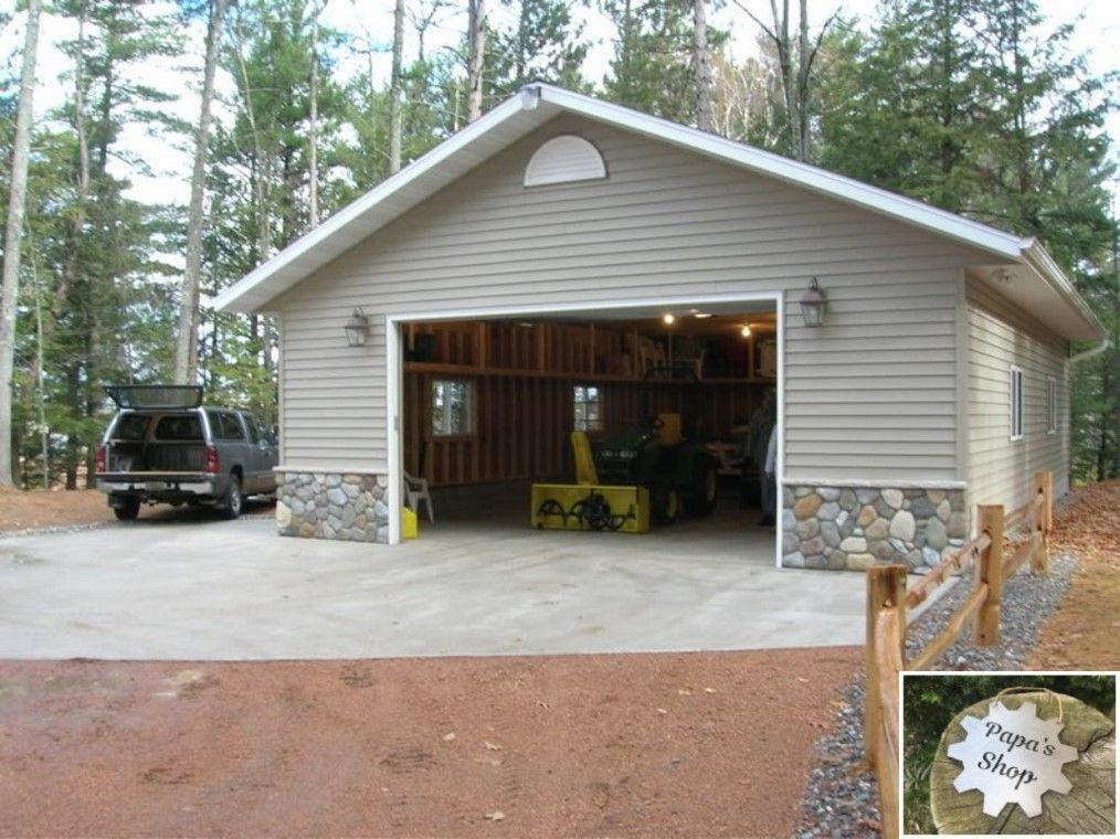 Large Building For A Garage Shop With Loft And Closet Garageshop Homeworkshop Workshopbuilding Garage Design Garage Building Plans Garage Plans