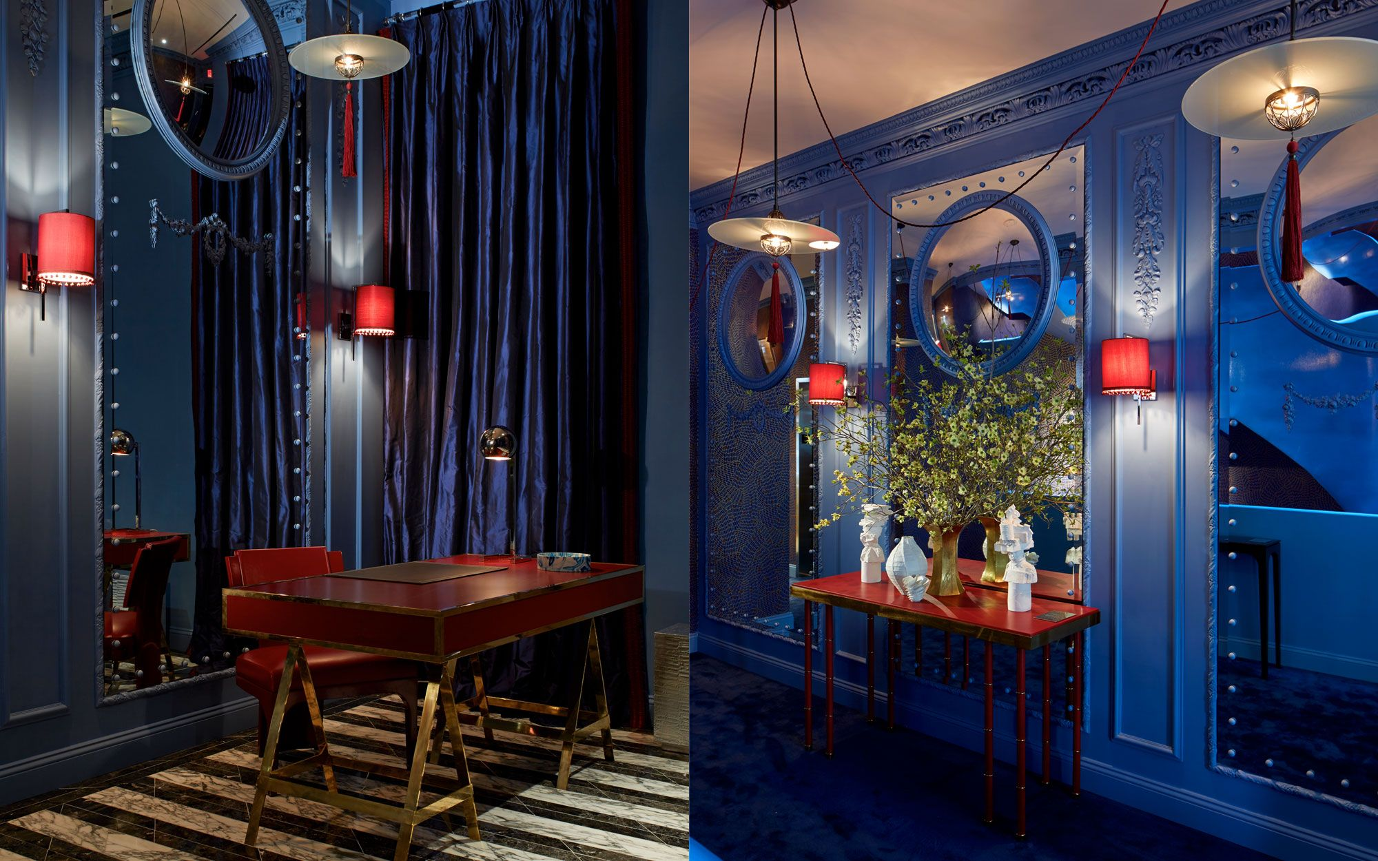 The Blue Bar At The Berkeleyel In London The Now Iconic Bar Combined Cl Ical De S By Sir Edwin Lutyens With Elements Of Contemporary Design