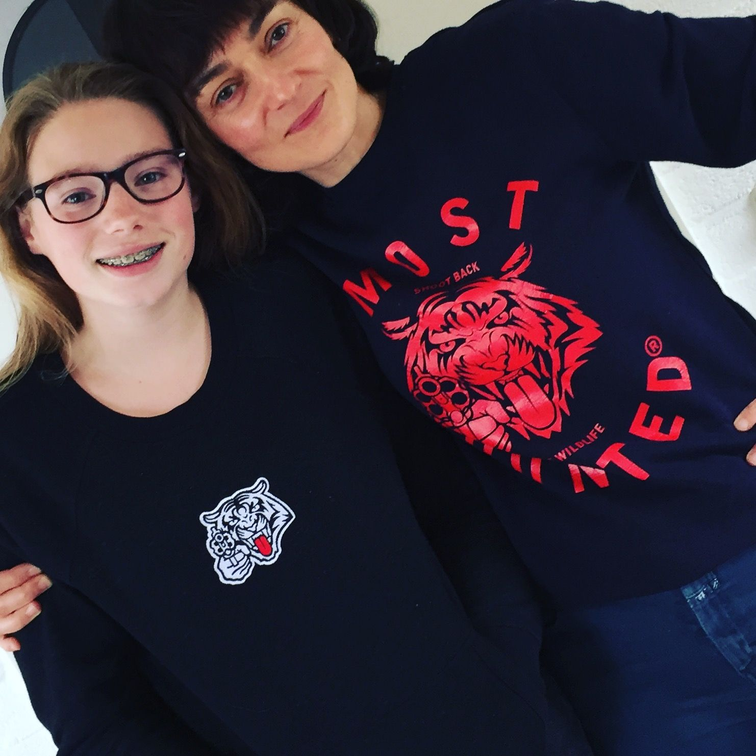 Thnx for your roarrrs tigers 😻 Beautiful shot Maja and Mijke! #girlpower #tigerpower #mosthunted #tiger #sweaters #shootback #savewildlife #beastly #good #streetwear #streetstyle #girlstyle #loveit #endextinction #dogood #dosomething #dressforsuccess mosthunted.com #wearatownrisk #roarrr