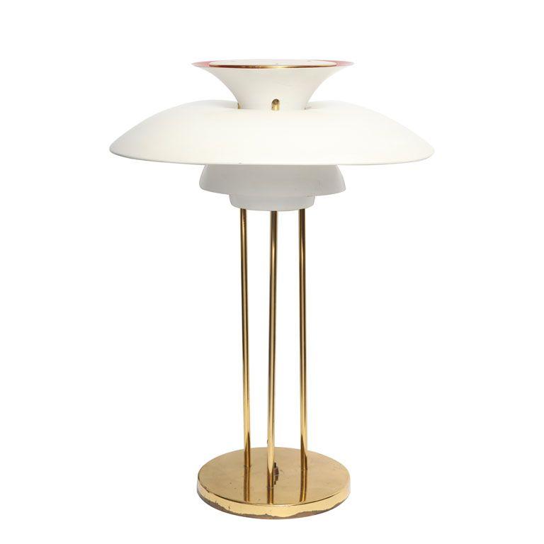 A 1960 S Modernist Table Lamp By Poul Henningsen 1stdibs Com Vintage Table Lamp Modern Table Lamp Danish Modern Design