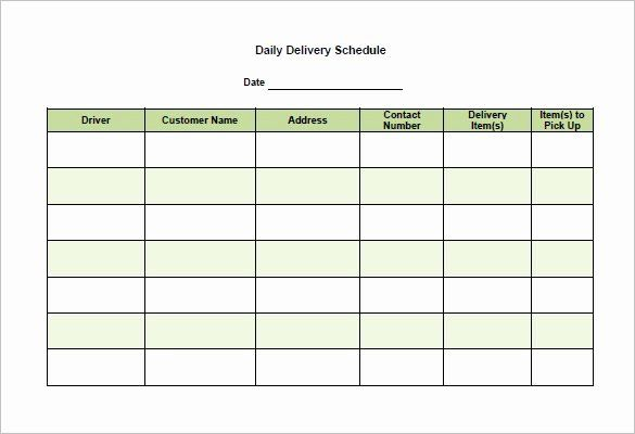Schedule Of Availability Template Inspirational 15 Delivery Schedule Templates Pdf Doc Xls Timetable Template Schedule Template Schedule Templates